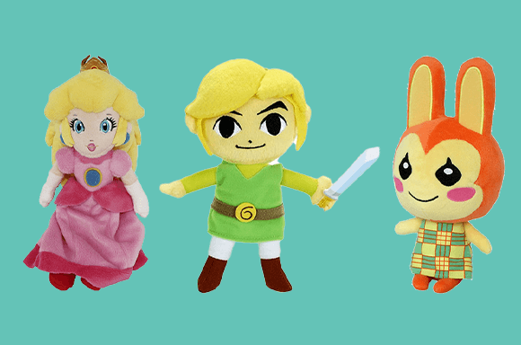 Awesome Nintendo Plushes