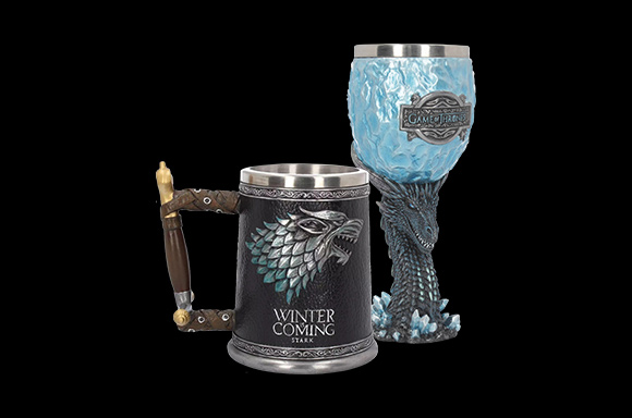 50% off Game of Thrones Tankards & Goblets
