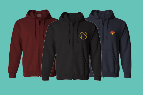 EXTRA 40% OFF ZIPPED HOODIES