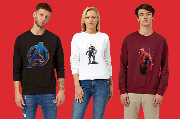 ONLY $14.99!<BR>MARVEL SWEATERS