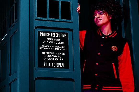 Doctor Who Gallifreyan Unisex Varsity Jacket