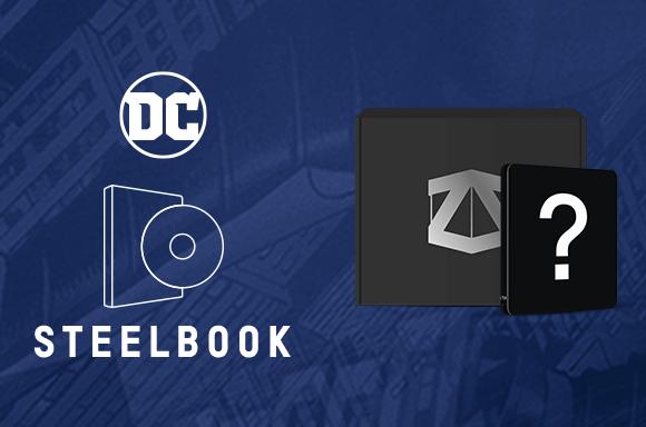 DC COMICS STEELBOOK X ZBOX