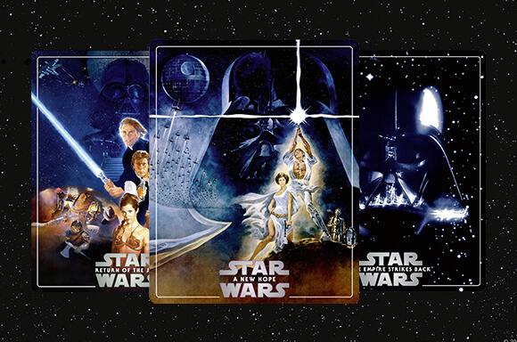 STAR WARS 4K STEELBOOKS