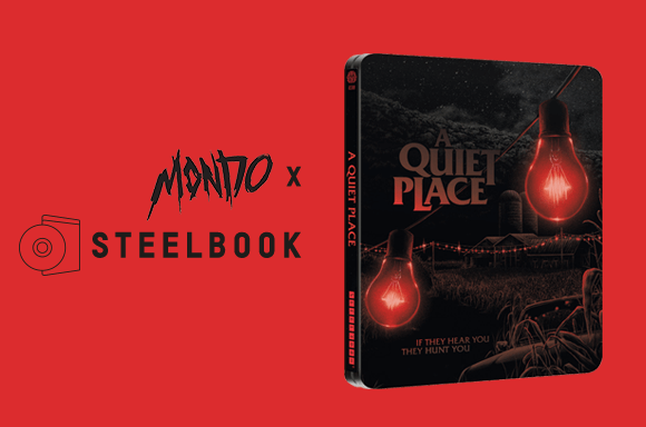 A QUIET PLACE - MONDO #38 LIMITED ADDITION STEELBOOK