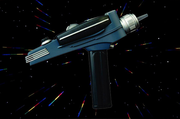 PREMIUM REPLICA STAR TREK PHASER