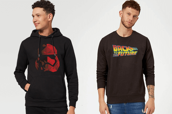 SCI-FI HOODIES AND SWEATERS