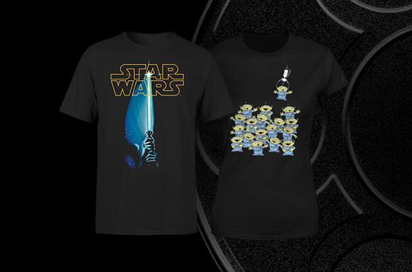 $9.99 Movie T-Shirts!