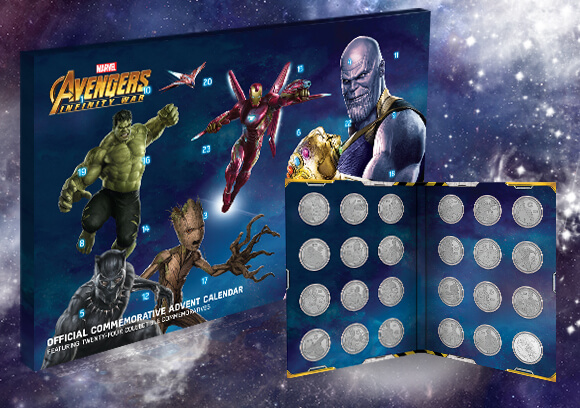 $20 OFF COLLECTORS COIN ADVENT CALENDARS