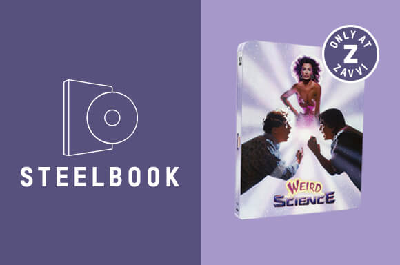 WEIRD SCIENCE STEELBOOK