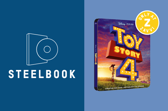 TOY STORY 4 STEELBOOK BUNDLE