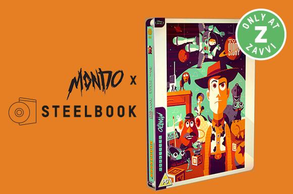 TOY STORY MONDO X STEELBOOK