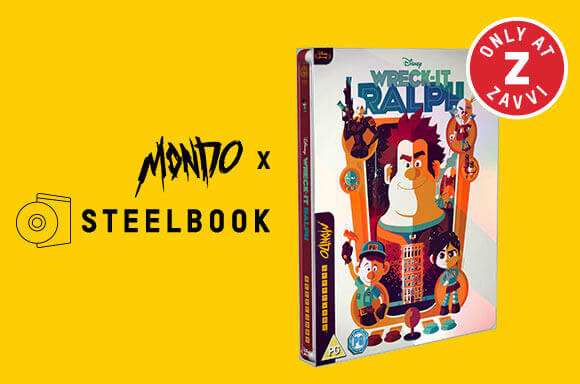 WRECK IT RALPH - MONDO #34 LIMITED EDITION STEELBOOK