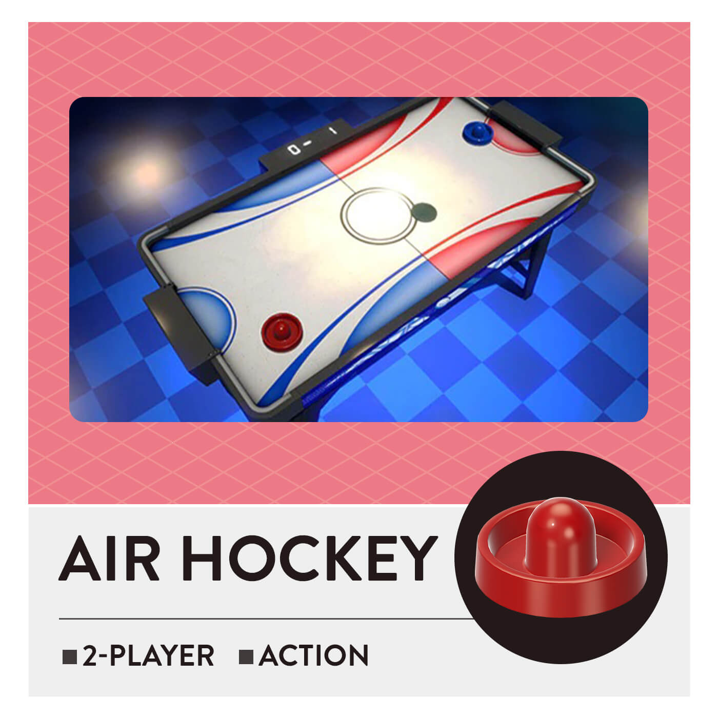 51Worldwide Games - Air Hockey