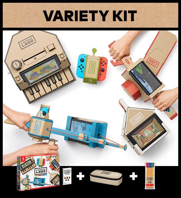 <b>Nintendo Labo: Variety Kit</b>