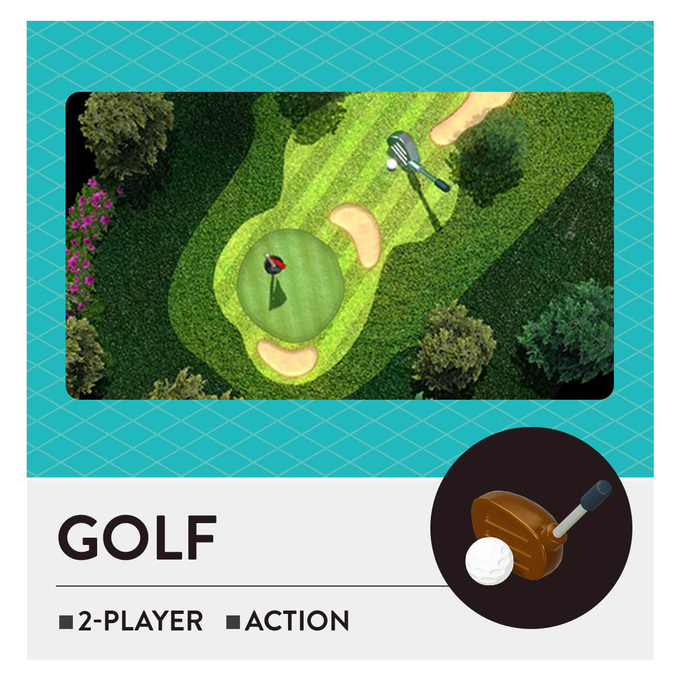 51 Worldwide Games - Golf