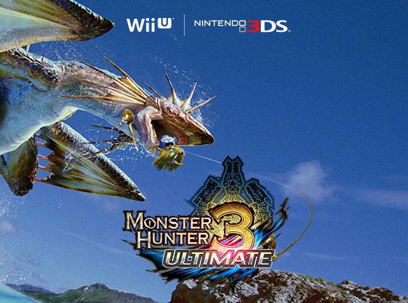 <b>Monster Hunter 3 Ultimate (Nintendo 3DS and Wii U)</b>