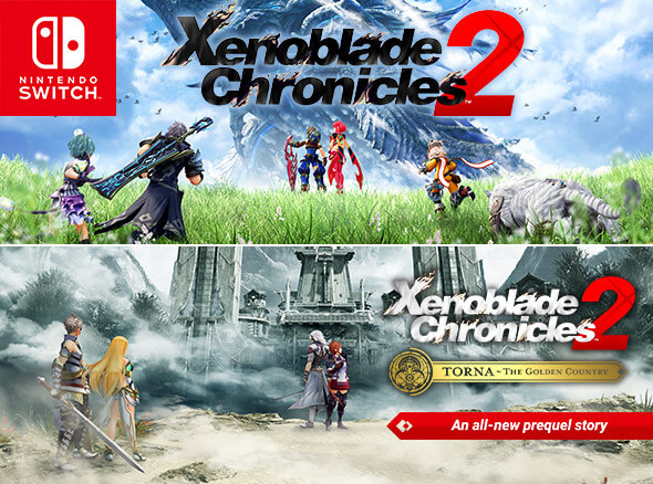<b>Xenoblade Chronicles 2 and Xenoblade Chronicles 2: Torna - The Golden Country</b>