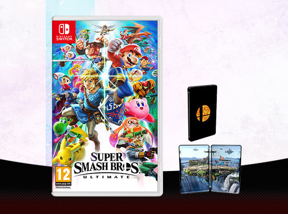 <b>Super Smash Bros. Ultimate + Steelbook</b>