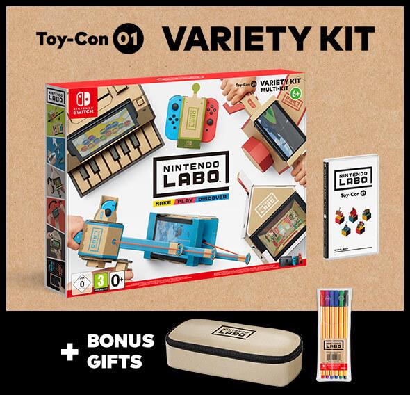 <b>Nintendo Labo Toy-Con 01: Variety Kit</b>