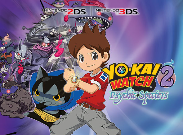 <b>YO-KAI WATCH 2: Psychic Specters</b>