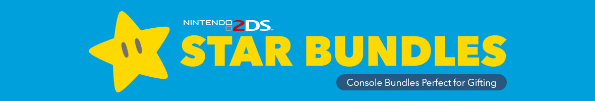 Star Bundles - Nintendo 2DS - From £97.99