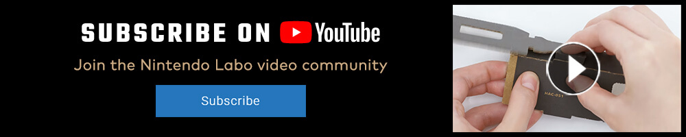Join the Nintendo Labo community