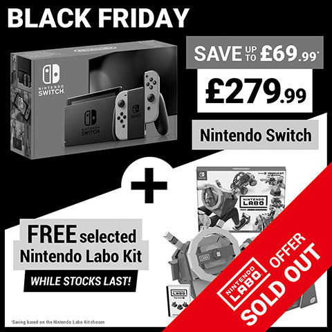FREE Nintendo Labo with Nintendo Switch consoles