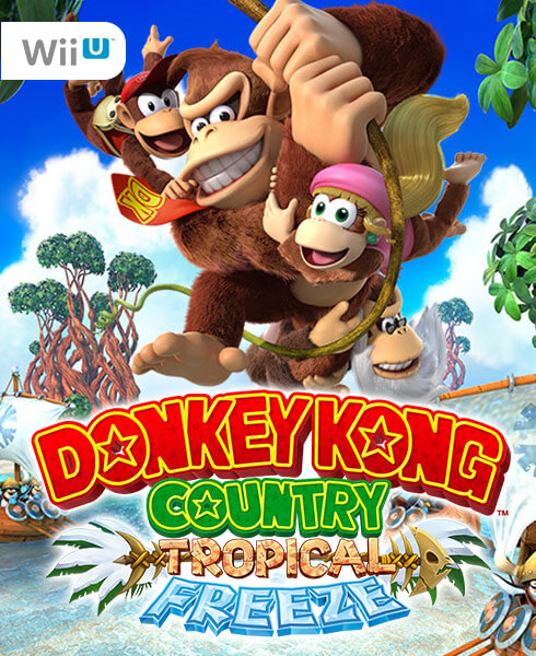 <span style='color: #998B8B;'><b>Donkey Kong Country: Tropical Freeze on Wii U</b></span>