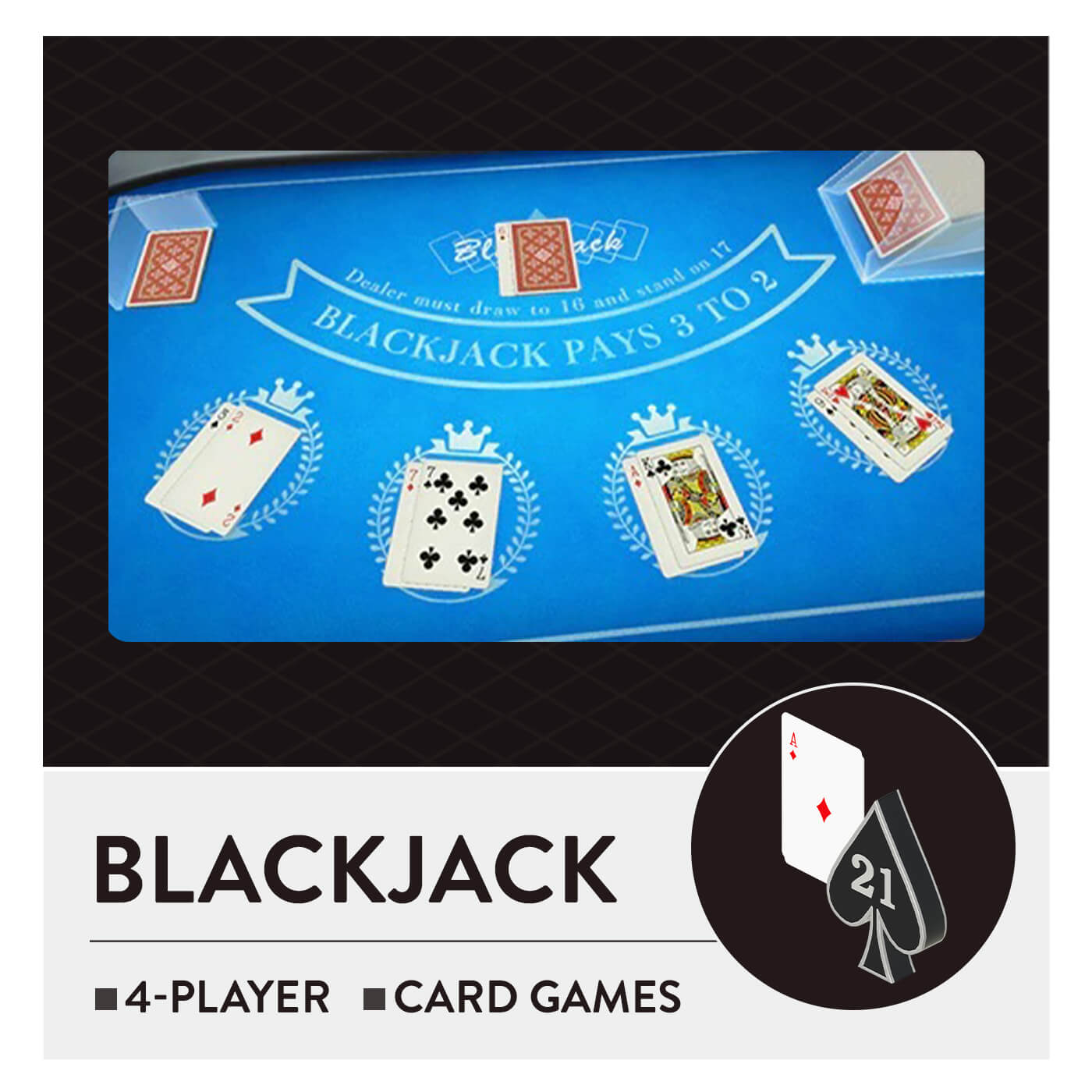 51 Worldwide Games - Blackjack