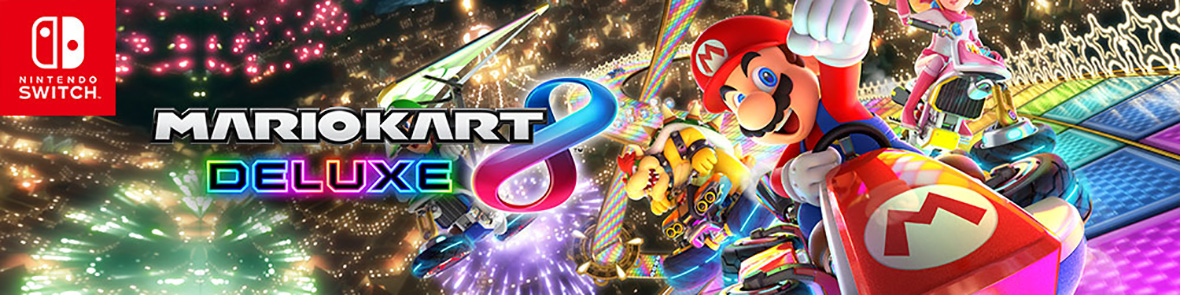 Mario Kart 8 Deluxe on Nintendo Switch