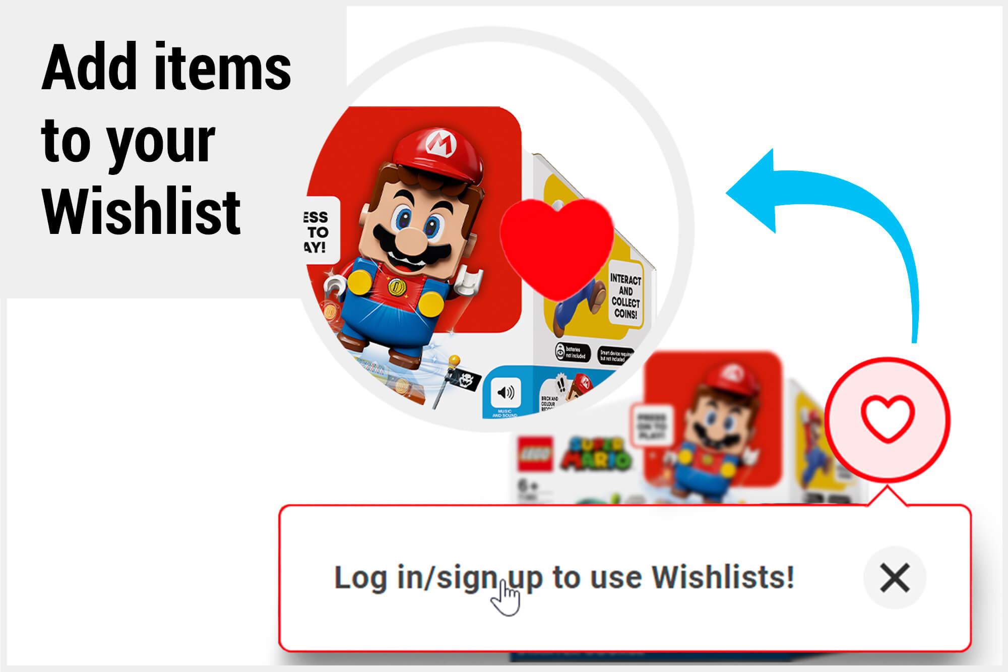 Create Your Own Wishlist