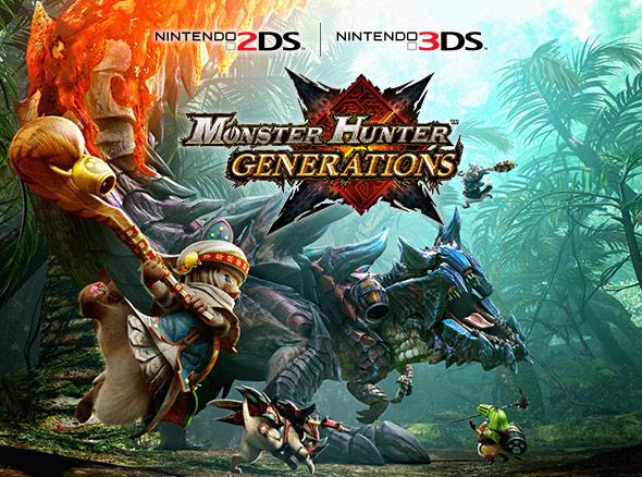<b>Monster Hunter Generations (Nintendo 3DS)</b>