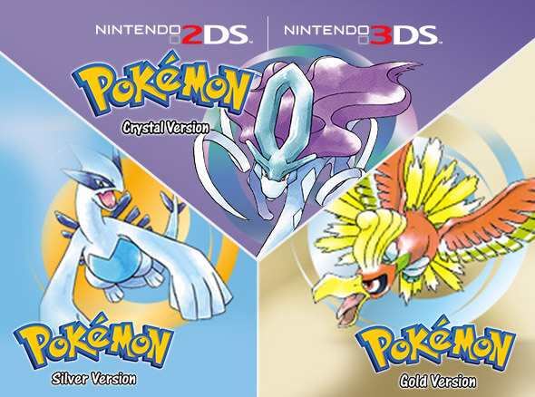 <b>Pokémon Gold Version, Pokémon Silver Version and Pokémon Crystal Version</b>