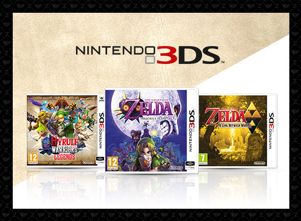 The Legend of Zelda Nintendo 3DS Games