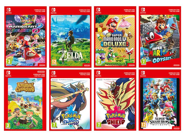 Nintendo Switch Digital Downloads Nintendo Official Uk Store