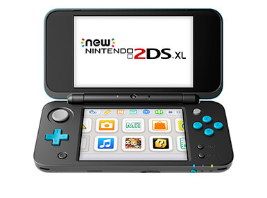 New Nintendo 2DS XL Consoles