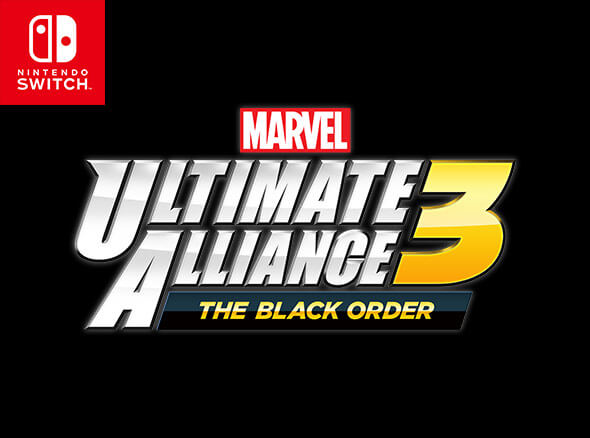 <b>MARVEL ULTIMATE ALLIANCE 3: The Black Order</b><br><br>