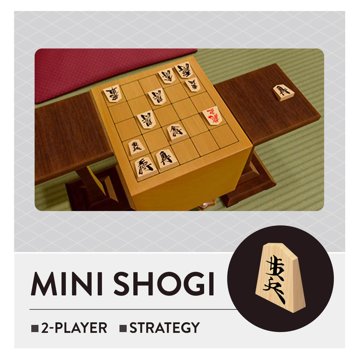 51 Worldwide Games - Mini Shogi