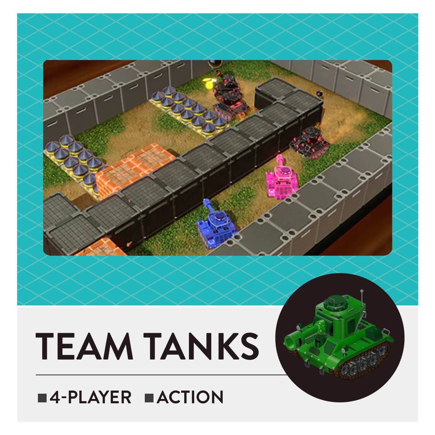 51 Worldwide Games - Team Tanks