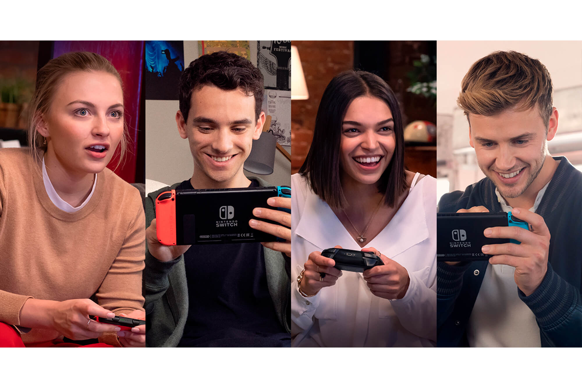 Link up to eight consoles for multiplayer