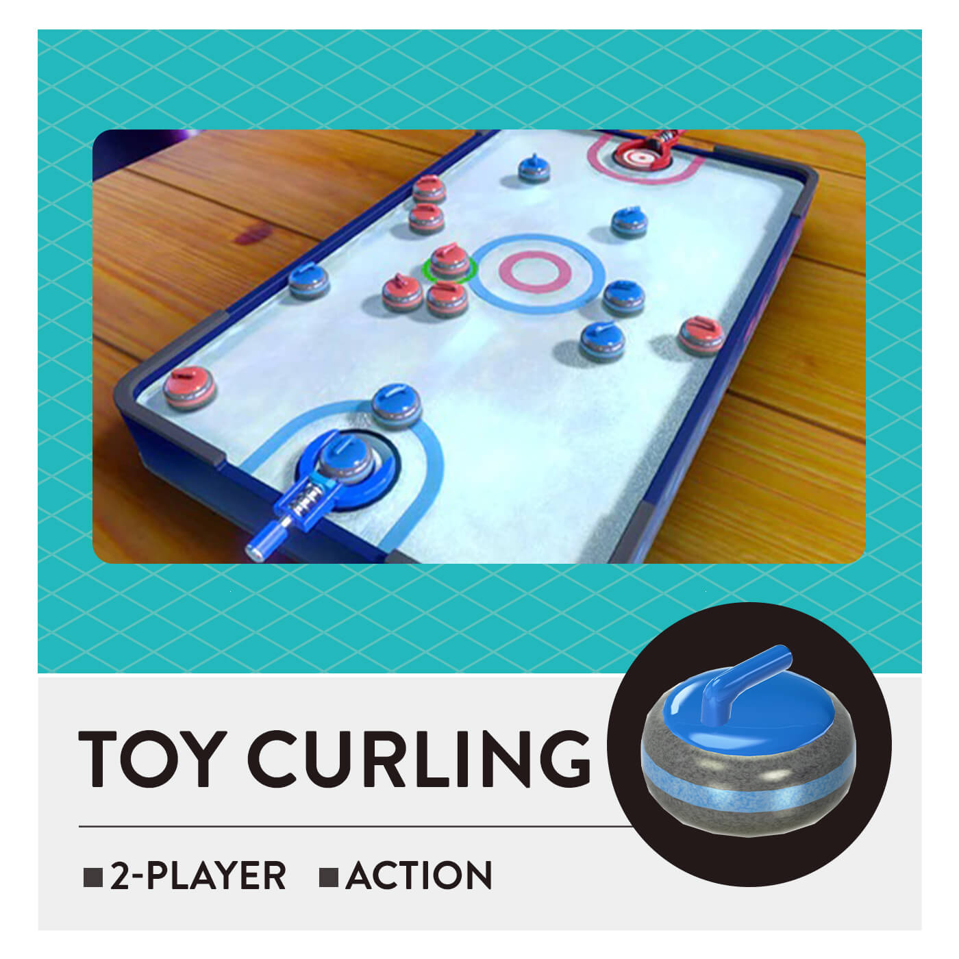 51 Worldwide Games - Toy Curling