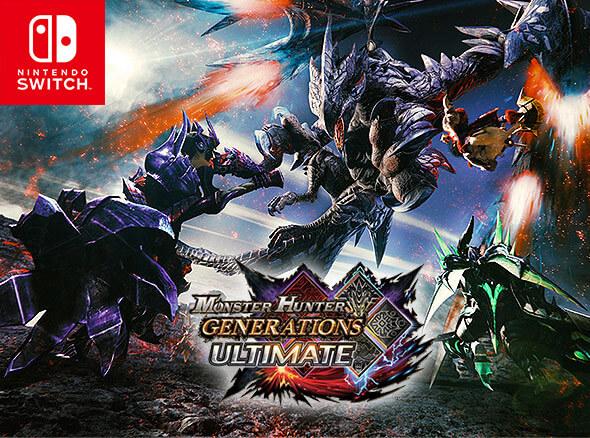 <b>Monster Hunter Generations Ultimate (Nintendo Switch)</b>