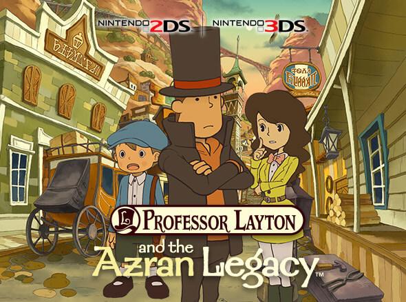 <b>Professor Layton and the Azran Legacy</b>