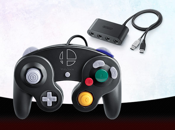 <b>GameCube Controller - Super Smash Bros. Edition</b>