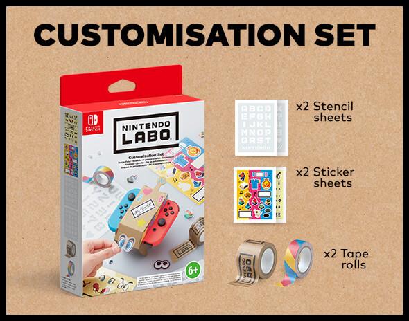 <b>Nintendo Labo Customisation Set</b>