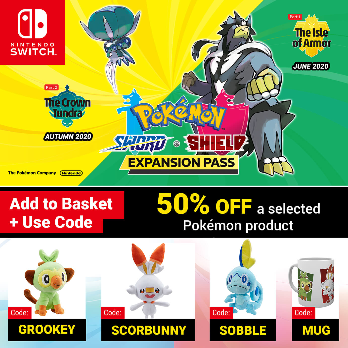 Pokémon Sword and Pokémon Shield Expansion Pass
