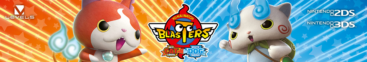 YO-KAI WATCH BLASTERS: Red Cat Corps and White Dog Squad