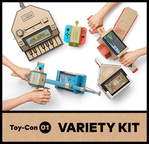 <b>Nintendo Labo Toy-Con 01: Variety Kit - Replacement Kits</b>