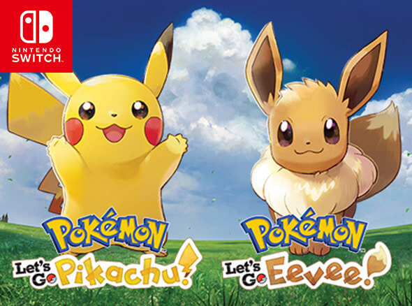 Pokémon: Let's Go, Pikachu! and Pokémon: Let's Go, Eevee! on Nintendo Switch