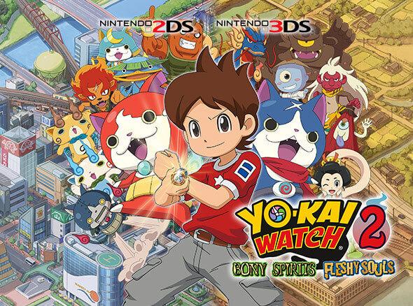 <b>YO-KAI WATCH 2: Bony Spirits YO-KAI WATCH 2: Fleshy Souls</b>